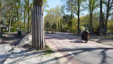 De Ruinerweg naar Echten is klaar, alleen het fietspad moet nog worden doorgetrokken.