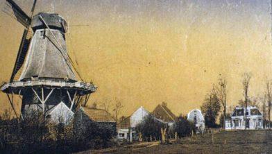 Oude molen bij familie Luichjes.