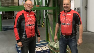 Samen voor de Voedselbank: Univé en MTB Havelte.
