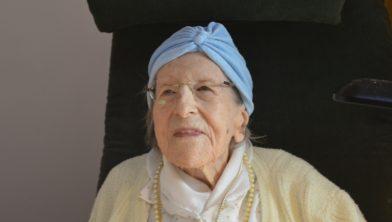 Betsy Cole vierde haar 108ste verjaardag.