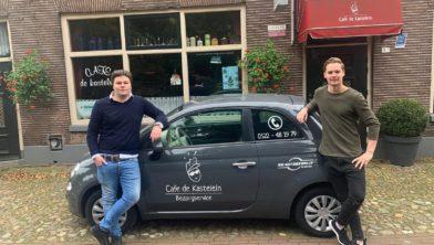 Speciale bezorgauto voor De Kastelein.