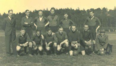 Voetbalfoto van Achilles 1894 uit 1940.