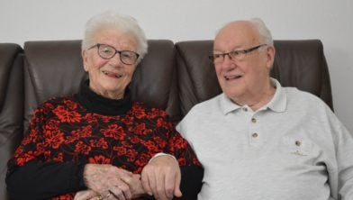 Willem en Janny Kloeze: 65 jaar getrouwd.
