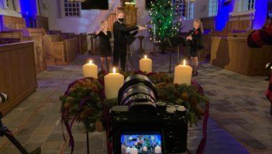 Opnames in kerk IJhorst.