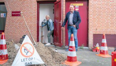 Gerrie Hempen en Eddy Veenstra.