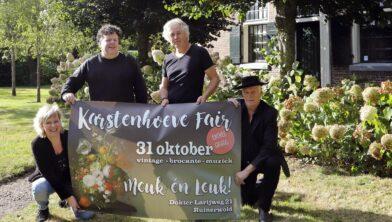 Van links naar rechts Petra Hessels, Johan Snijder, Benny Spin en Bart Kiers.