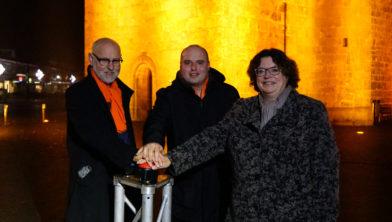 Theo Hijkoop, consulent Maik Rohaan en Ilse Duursma