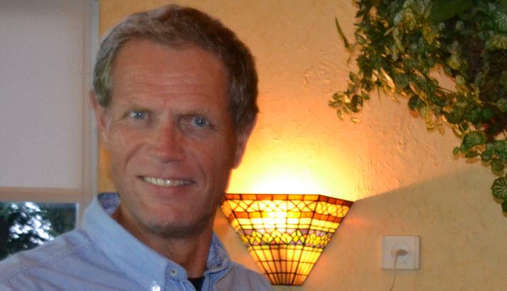 De nieuwe voorzitter Anton Euren