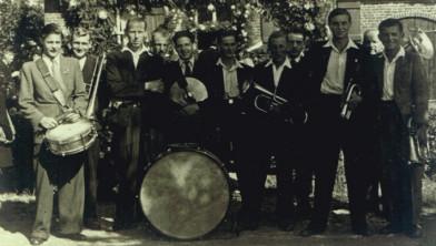Fanfare Hubertus vlak na de oprichting