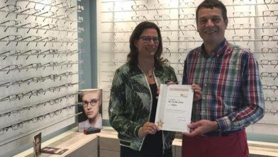 b1d61cebc6fcbe Gert de Pee Optiek eerste opticien met erkenning als 5-sterrenspecialist.  Door  dongen