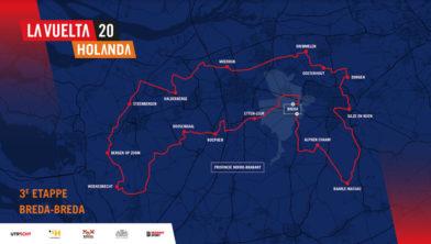 De beoogde route van de afgelaste editie van 2020. Of de route in 2022 exact hetzelfde is, is nog niet bekend.