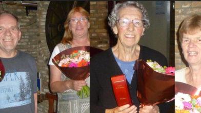 40 jaar lid van Biljartvereniging 't Vaartje