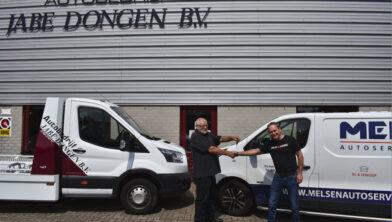Ad Jansen (l) en Peter Melsen (r)