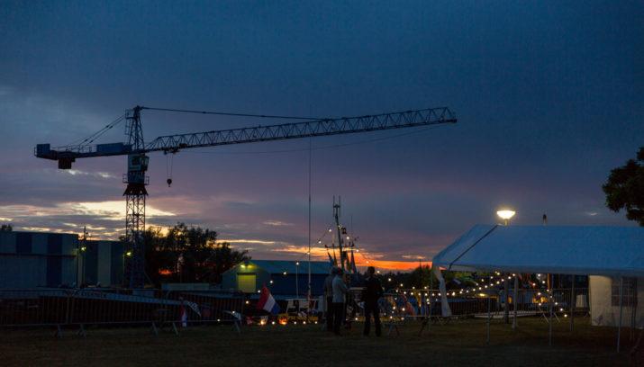 Fraaie verlichte botenshow havenfeesten Lage Zwaluwe