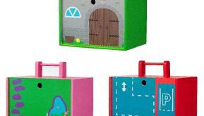 Houten Garage Hema : Terughaalactie van de hema houten speelgoed draagkist