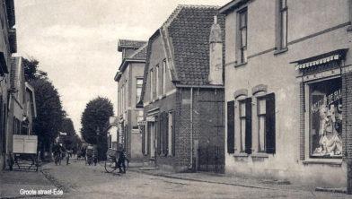 Grotestraat Ede rond 1915