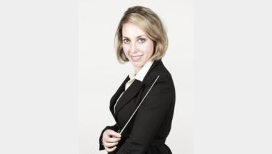 Madeleine Boertje, dirigent Het Edes Orkest