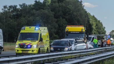 Ongeval A1 16 juli 2018
