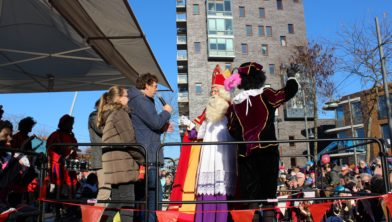 Ontvangst Sinterklaas In Ede-Centrum 2018
