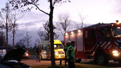 WEKEROM - Zondagmiddag 9 december heeft rond 16:30 uur een eenzijdig ongeval.