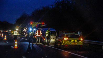 Op de A30 bij Lunteren heeft donderdagochtend een ongeval plaats gevonden.