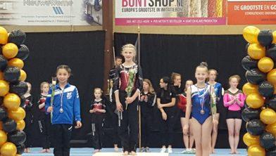 Novalee Deuning wint zilveren medaille
