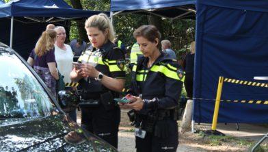Politie controle Goudsberg  Lunteren 4 juni 2019