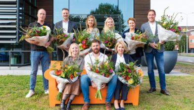 De negen genomineerde ondernemers voor het Business Event Ede 2019