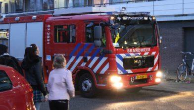 Brandweer Stadspoort in actie