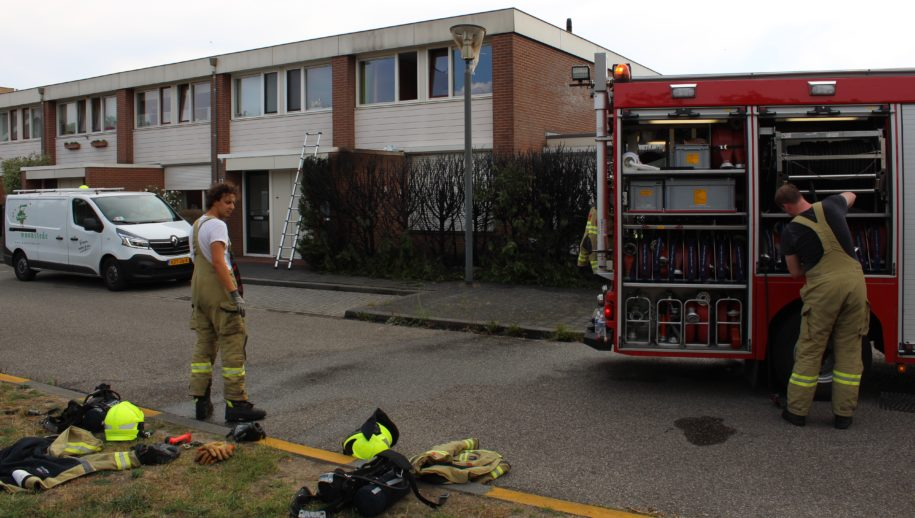 Brandweer Ede-Stadspoort in actie